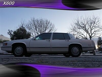 DeVille -- 1993 Cadillac DeVille, White with 80,459 Miles available now!