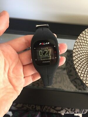Polar A300 fitness watch & tracker + bluetooth heart rate monitor - as new
