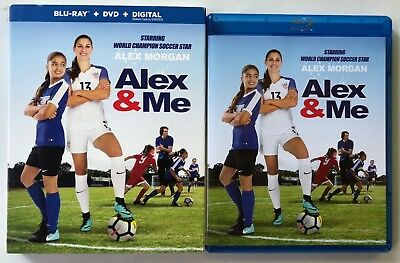 Alex & Me Blu Ray Dvd 2 Disc Set + Slipcover Sleeve Free World Wide Shipping
