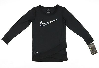 NIKE Kids Dri-Fit Sport Essentials Crossover Tunic (Toddler) Girl's : 4T Toddler