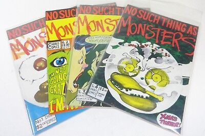 Lot of (4) No Such Thing as Monsters (Chorus Comics) #1-4, VG+ to NM