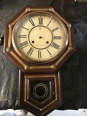 antique clock - for repair - can post