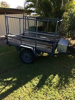 Trailer 6 x 4 foot timber and steel