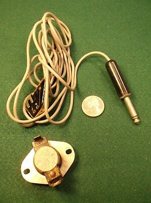 #22 of 22, FROM A VTG PRO'S HARMONICA COLLECTION, WIRES FOR ELECTRIC MOUTH HARP