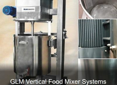 Vertical Food Mixer System. Great for Hummus, Tahiti, Salads, Ground Meat est.