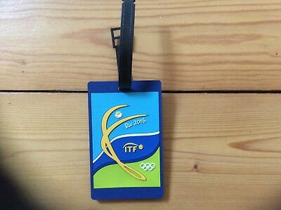 travel luggage tags ITF Rio Olympic Games 2016