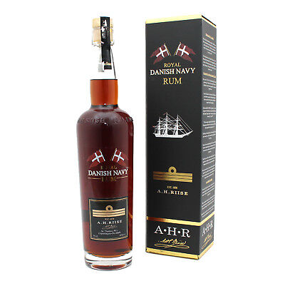 A.H. RIISE - Royal Danish Navy Rum -  Geschenkpackung - 0,7l - 40%