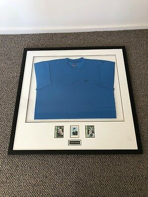 Tiger Woods Signed Nike Shirt - Framed With Certificate Of Authenticity