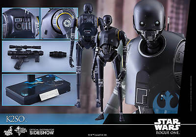 "Star Wars Rogue One K-2SO 12"" 1/6 figure Hot Toys U.S. seller"