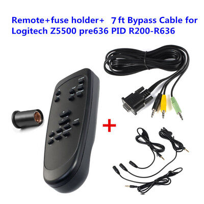 Control Pod Bypass Cable + Speaker Remote for Logitech Z5500 pre636 PIDs