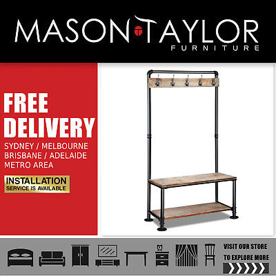 Mason Taylor Artiss DIY Rustic Shoe Rack and Hanger  AU#