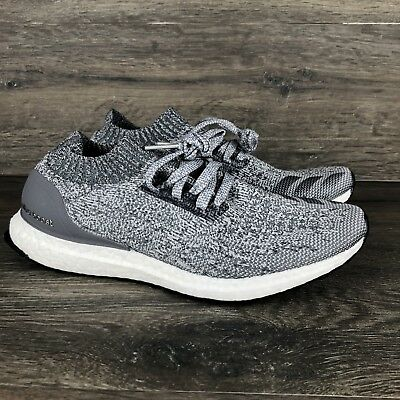97de4a6e4adff ADIDAS MEN S ULTRA Boost Uncaged Grey Running Shoes BY2550 Size -10 ...