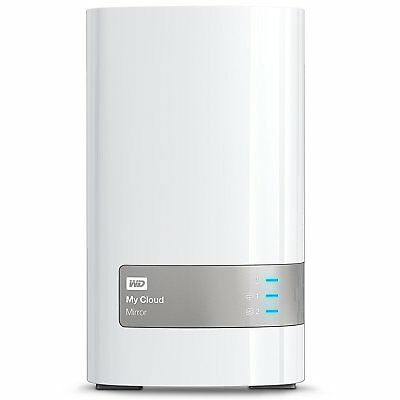 Western Digital 2x2TB My Cloud Mirror WD, NAS 2 Bay, Persönlicher Cloud
