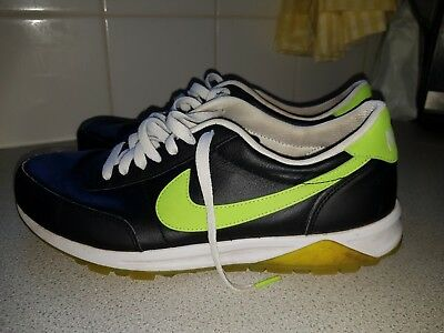 Nike Black/lime Green  Trainers Size Uk 7.5