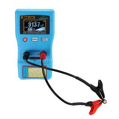 2 in 1 Digital Auto-ranging Capacitor Analyzer ESR Meter Capacitance Tester P2U6