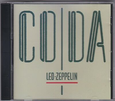 Led Zeppelin - Coda - CD (Swan Song 1994 Remaster Australia)