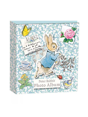 Peter rabbit chunky photo album great for babies ,christenings keepsake gift