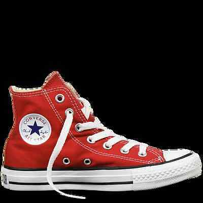 Converse Chuck Taylor All Star High Top Red Unisex Size EU 40 Genuine