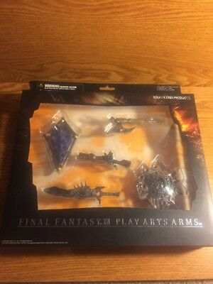 Final Fantasy XII Play Arts Arms Weapons Collection Set Figures
