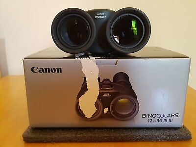 Canon 12x36 Is Iii Image Stabilized Binoculars 46999 Picclick Uk