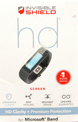Invisibleshield Screen Protector-HD Clarity+Premium Protect for Microsoft Band