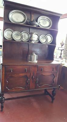 Antique Jacobean Revival Buffet Dresser OAK !! EDWARDIAN