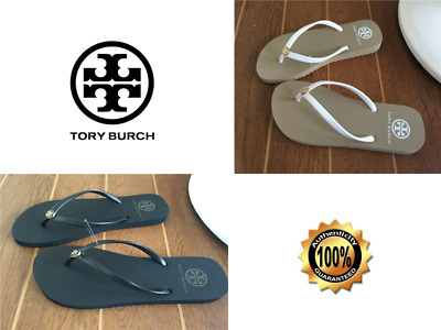 b35bbc6a8 TORY BURCH Flip Flop Sizes 6 7 8 9 10 US Size Gold Logo Thong Sandals