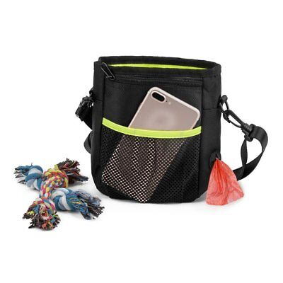 Dog Treat Training Bag Pet Dogs Snack Food Bag Pouch With Adjustable Strap SQ