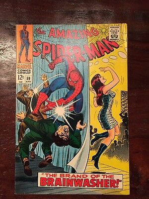 Amazing Spider-Man #59 NM1st Mary Jane Watson Cover Marvel Silver Age Comic
