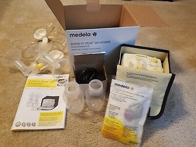 medela pump in style advanced and extras