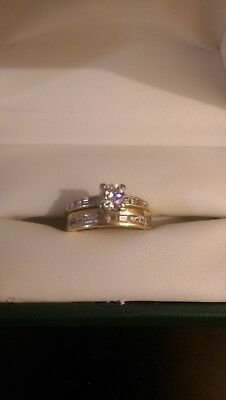 Wedding Ring Set 18CT Diamond
