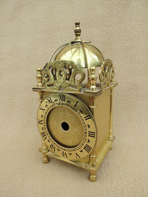 Vintage Brass Lionel Peck London Small Lantern Clock Case