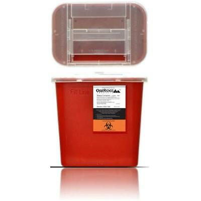 Sharps Containers OakRidge Products Gallon Size Disposal Holds Hundreds Of