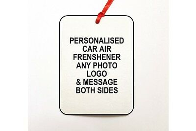 Your Photo Personalised Onto Car/Study Air Freshener
