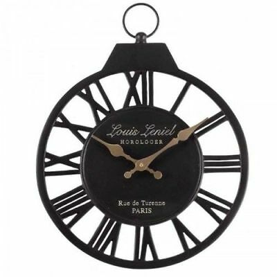 Outside In Vintage Outdoors Garden Weather Resistant Wall Clock