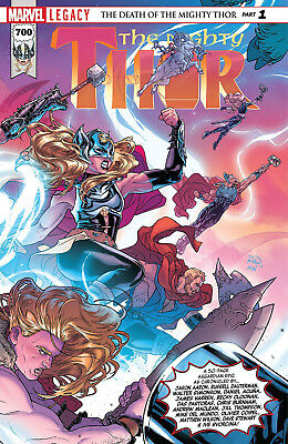 Mighty Thor Vol 1 700 Marvel Legacy Part 1