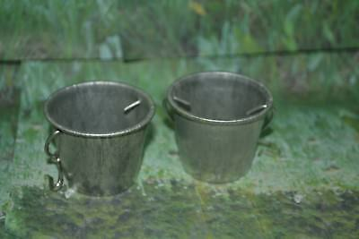 Breyer Traditional Size Metal Buckets Lot of 2
