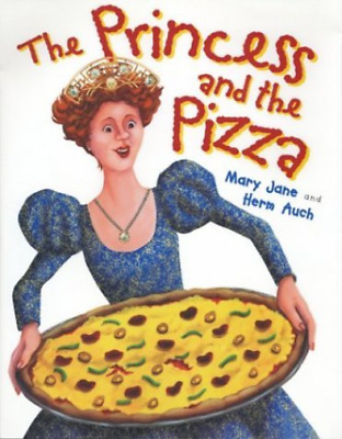 Auch, Mary Jane (Ilt)/ Auch...-The Princess And The Pizza  (US IMPORT)  BOOK NEW