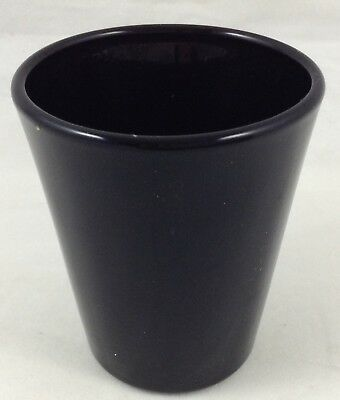Libbey Shot Glass All Black Whiskey Barware 1.5 Ounce Toothpick Holder FR SHP