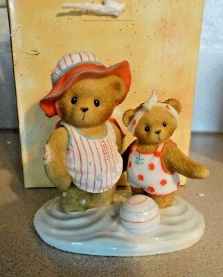 NEW Cherished Teddies 2007 Jean & Christi Club Exclusive Figurine in Box,4009380