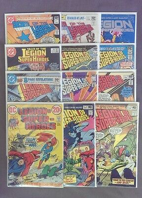 Lot of 12 The Legion of Super Heroes Comic Books DC *1974 *1-329 *1st Issue
