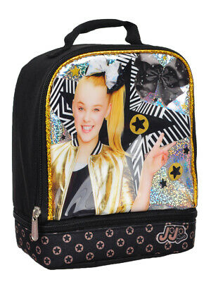 Jojo Siwa Insulated Lunchbox - black, one size