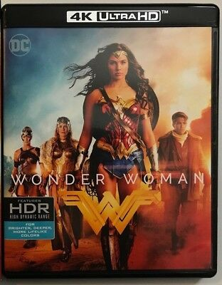 Dc Comics Wonder Woman 4K Ultra Hd Blu Ray 2 Disc Set Free World Wide Shipping