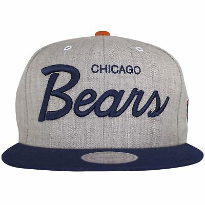 b0a5895f83207 CHICAGO BEARS VINTAGE Heather Gray Special Script Snapback -  17.99 ...