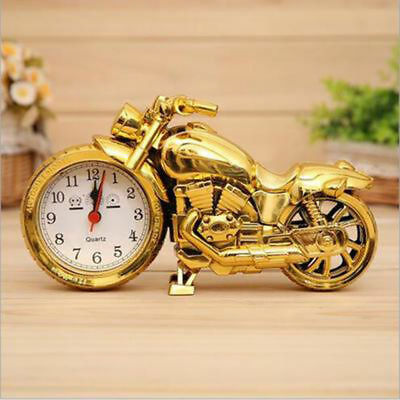 Motorcycle Model Battery Alarm Clock Gift Office Decor Home Decor Display