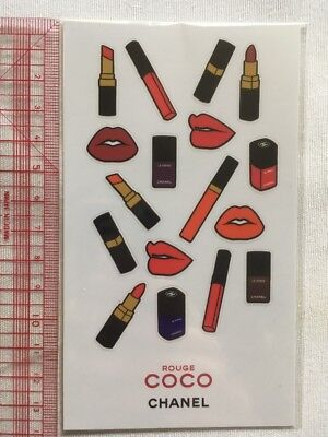 Plaquette Stickers Chanel ROUGE COCO