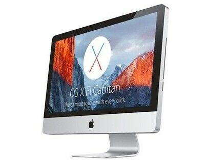 "Apple iMac 20"" All-In-One Upgrade iMac Updated LATEST OS 2017 + Extras"