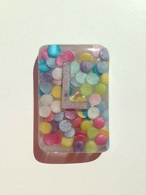 Summer Mix Confetti Radiography X-Ray Markers L & R - Choose Your Own Initials