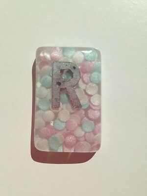 Pastel Mix Confetti Radiography X-Ray Markers L & R - Choose Your Own Initials