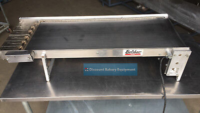 Belshaw Mark VI Feed Table for Yeast-Raised Donut Production, FT2DW